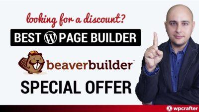 Beaver Builder Promotion