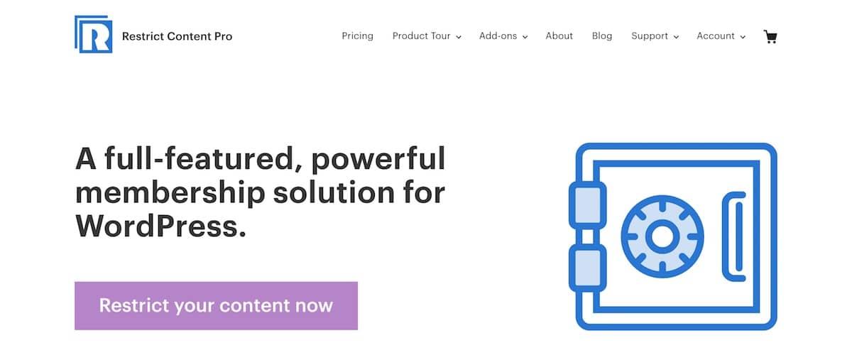 restrictcontentpro-website