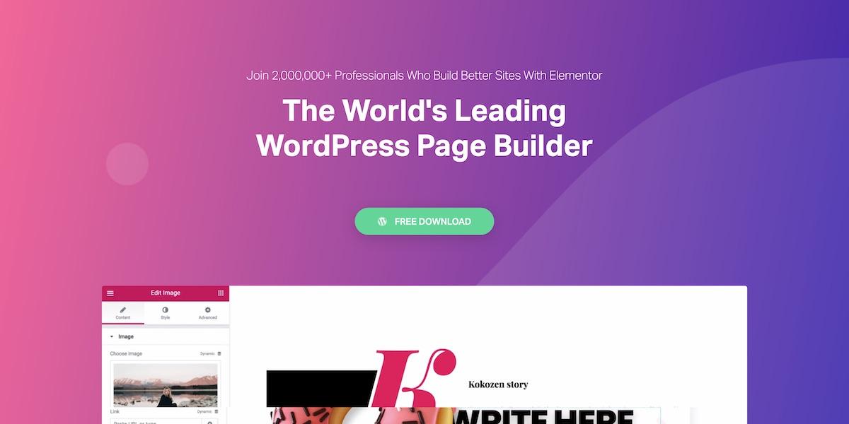 Elementor Review (September 2019) - Pros & Cons WordPress