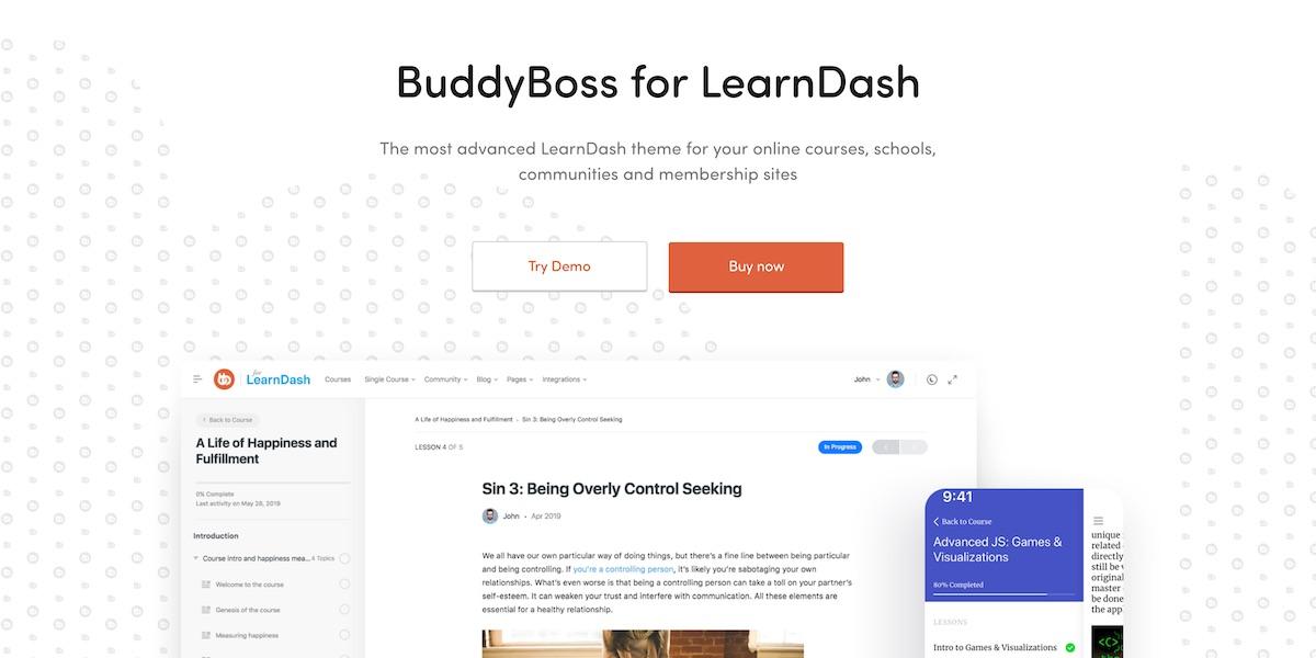 BuddyBoss Theme Review (September 2019) - Pros & Cons Reviews