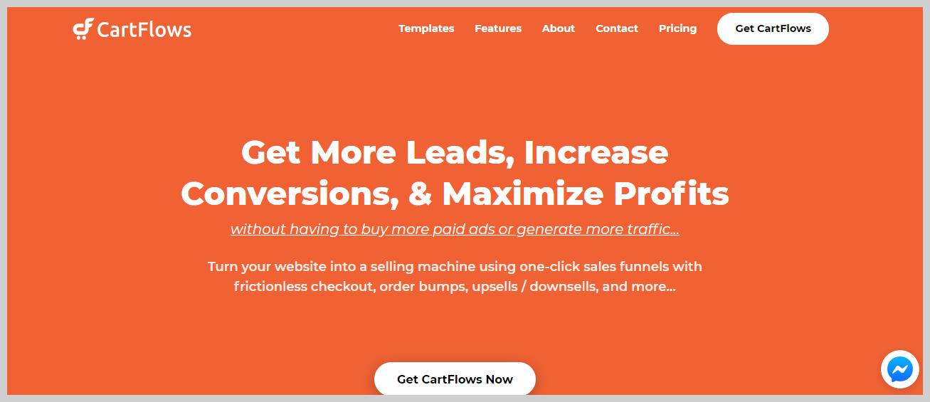 cartflows homepage