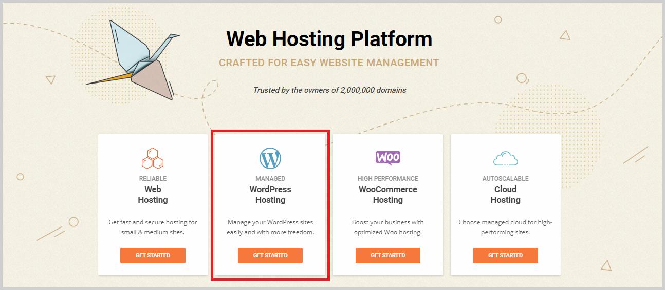 choose a siteground hosting